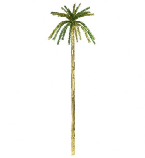 Tinsel Palmtrees - H 200cm Hawaiian Party Decoration